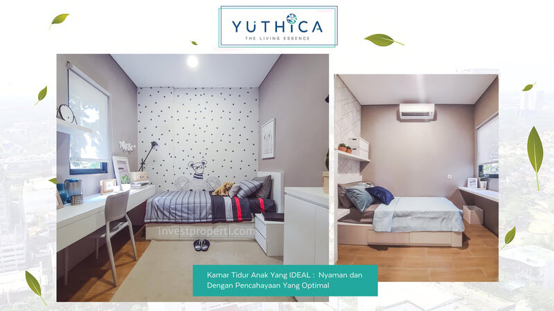 Show Unit Rumah Yuthica BSD - Kids Bedroom