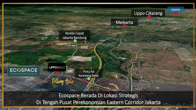 Lokasi EcoSpace Lippo Karawang