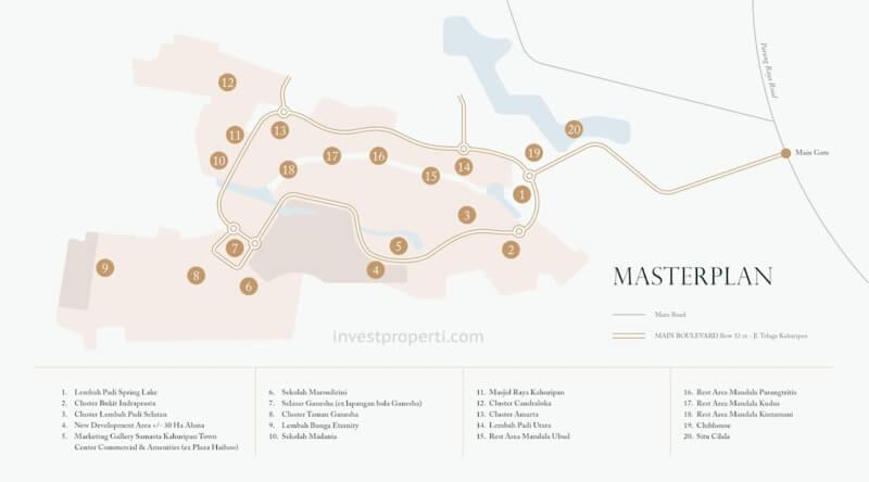 Master Plan Aluna Telaga Kahuripan