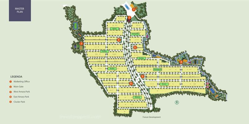 Master Plan Amara Village Parung Panjang