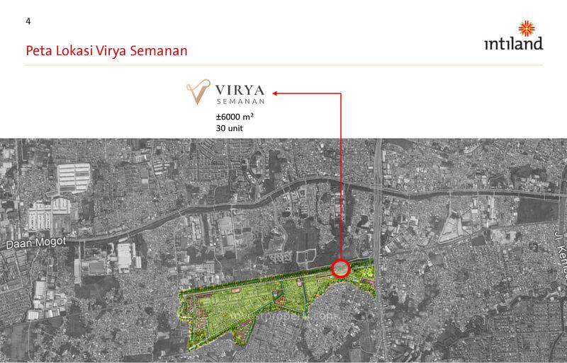 Peta Lokasi Virya Semanan