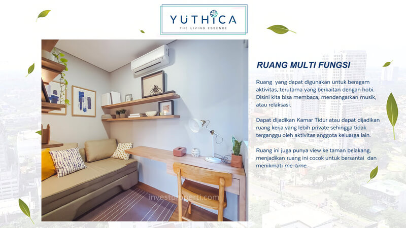 Show Unit Rumah Yuthica BSD - Multi Function Room