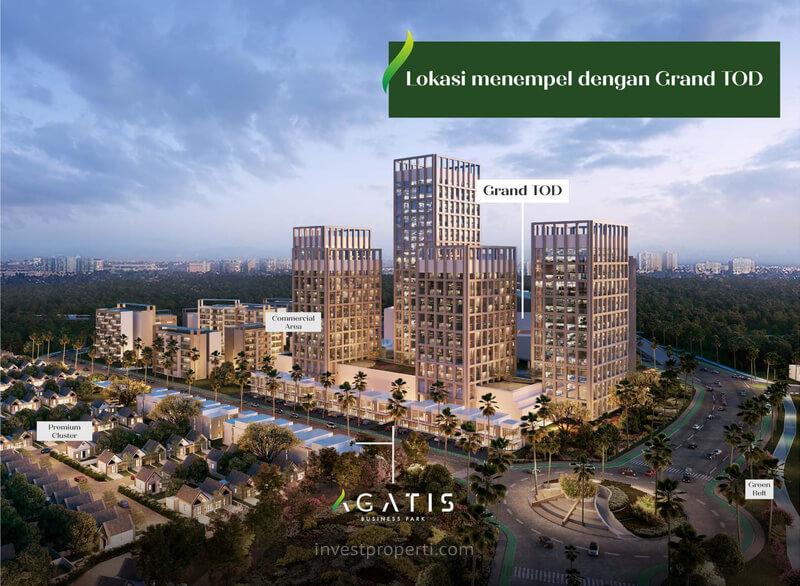 Ruko Agatis Business Park Sebelah Grand TOD Kota Podomoro
