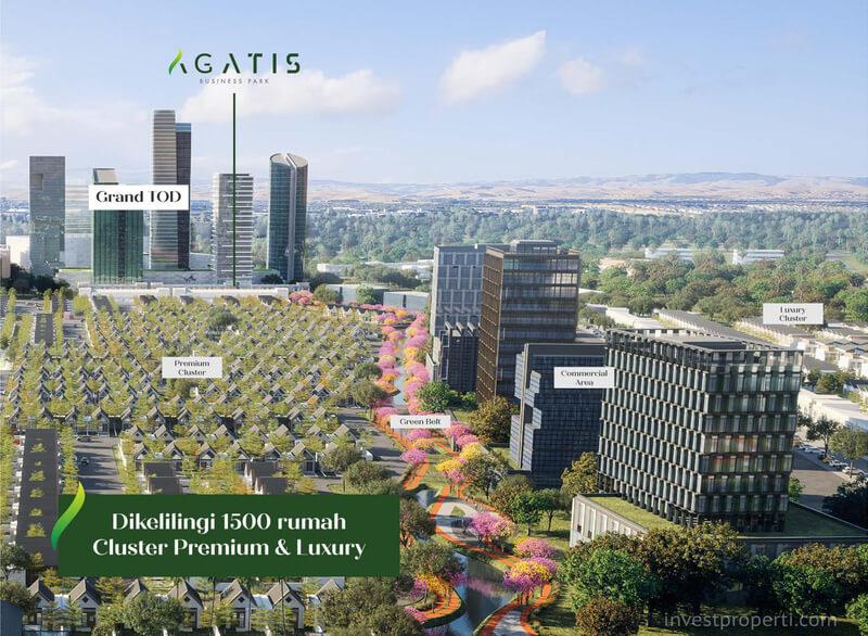 Ruko Agatis Business Park Kota Podomoro