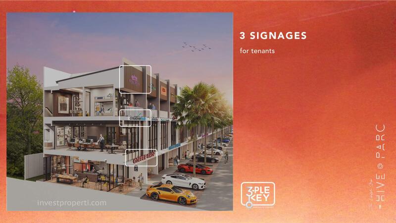 Ruko Hive Parc Lippo Karawaci 3 Signages
