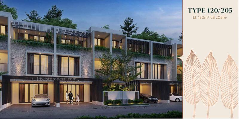 Rumah Anwa Residence Puri Tipe 120