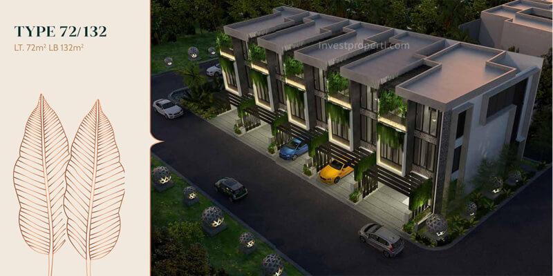 Rumah Anwa Residence Puri Tipe 72