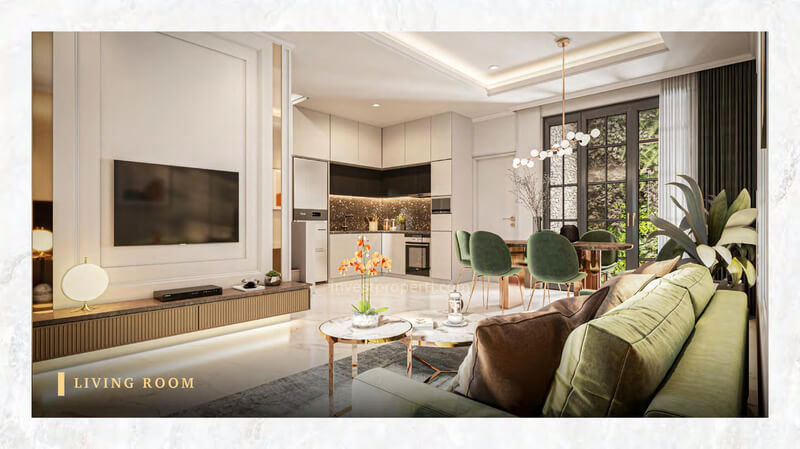 Rumah Bukit Podomoro Jakarta Tipe 6 - Living Room