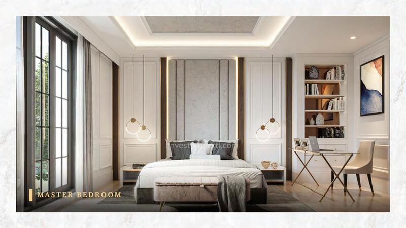 Rumah Bukit Podomoro Jakarta Tipe Art Deco - Master Bedroom