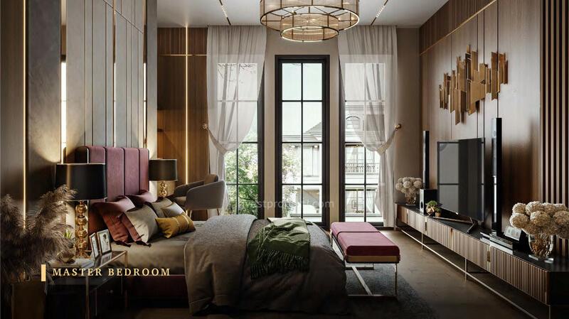 Rumah Bukit Podomoro Jakarta Tipe 8 - Master Bedroom