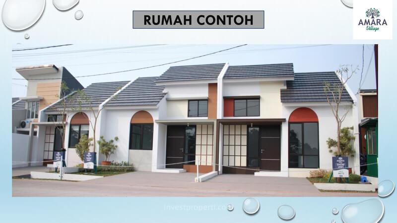 Rumah Contoh Amara Village Parung