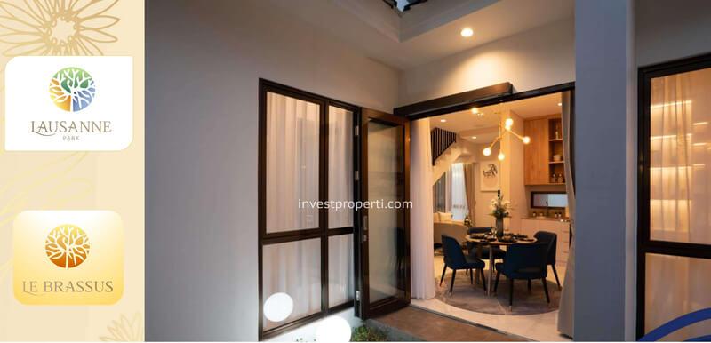 Inner Court Rumah le Brassus CitraRaya Tipe L5