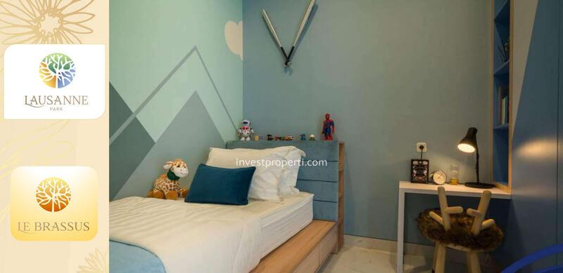 Kids Bedroom Rumah le Brassus CitraRaya Tipe L5