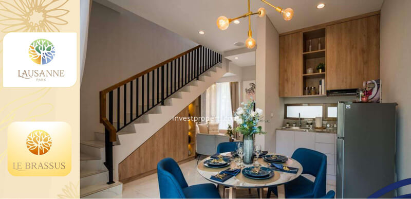 Living Room Rumah le Brassus CitraRaya Tipe L5