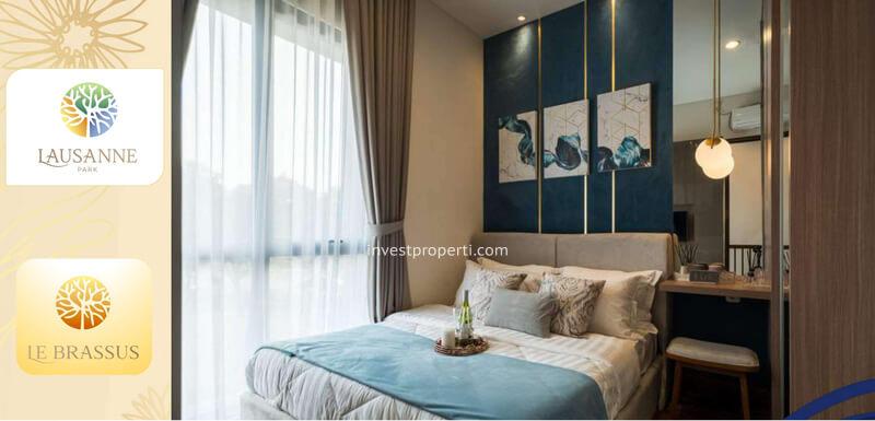 Master Bedroom Rumah le Brassus CitraRaya Tipe L5