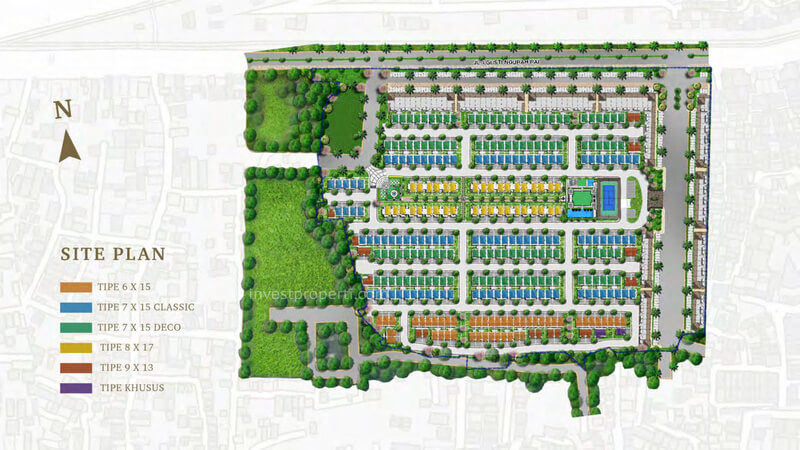 Siteplan Bukit Podomoro Jakarta