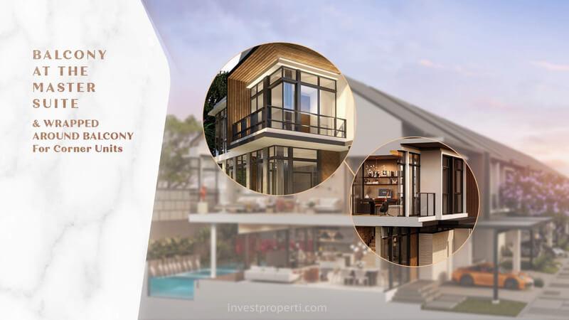 Balkoni Rumah Brava Himalaya Lippo Village