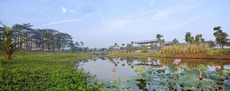Danau Botanical Park Navapark BSD City