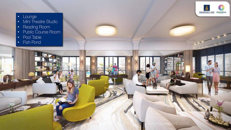Lounge Pasadena Residences Gading Serpong
