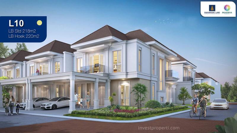 Rumah Pasadena Residences Tipe L10