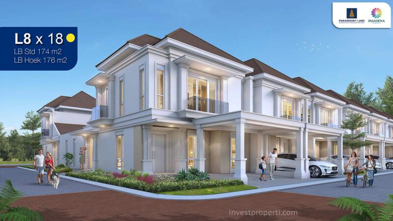 Rumah Pasadena Residences Tipe L8
