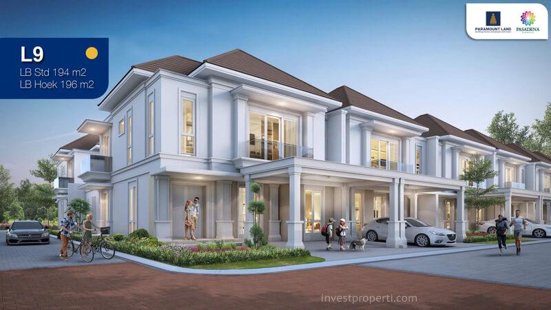 Rumah Pasadena Residences Tipe L9