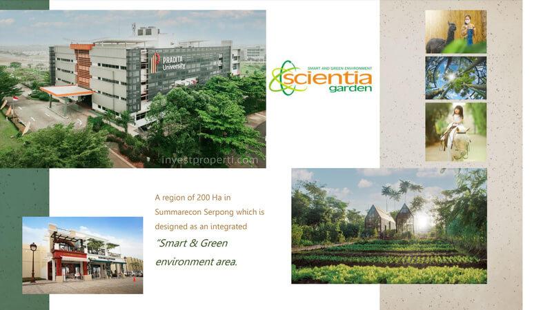 Scientia Garden Summarecon Serpong
