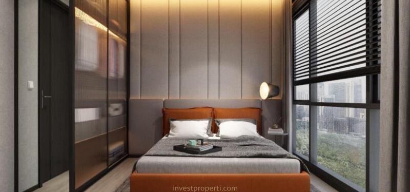 Show Unit 1BR Marigold Navapark BSD - Bedroom