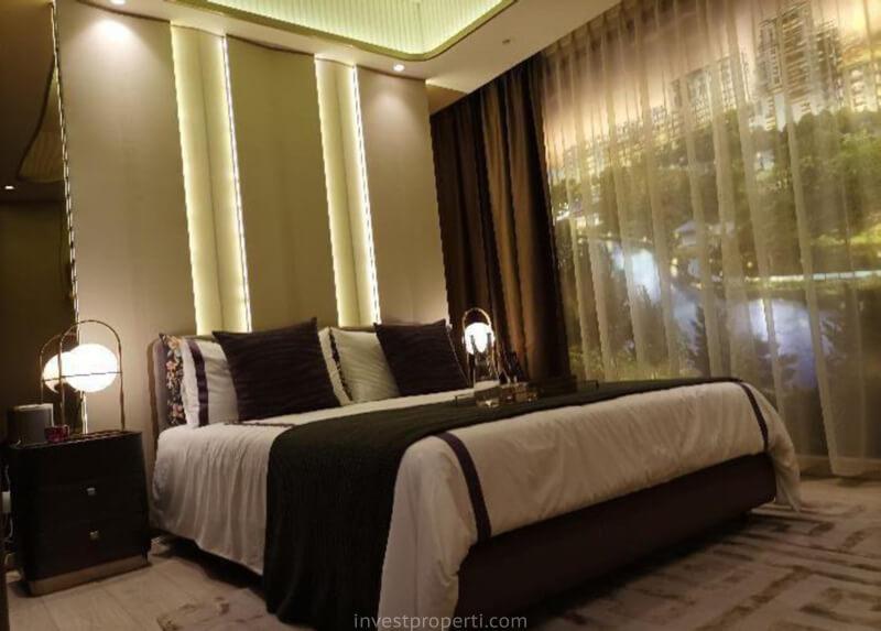 Show Unit 2BR Marigold Navapark BSD - Bedroom
